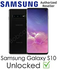 Samsung Galaxy S10 Black 128GB New Sprint AT&T T-Mobile Verizon Factory Unlocked