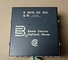 BASLER ELECTRIC RADIO FREQUENCY INTERFACE FILTER 9 2615 00 100