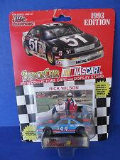RACING CHAMPIONS STOCK CAR & Collectors Card ~ NASCAR ~ Rick Wilson #44