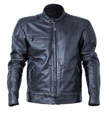 Giacche nero in pelle bovina per motociclista taglia 42