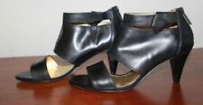 Mimco Leather Open Toe Heels for Women