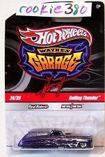 2011 Hot Wheels WAYNE'S GARAGE #24 * ROLLING THUNDER * PURPLE FUNNY CAR