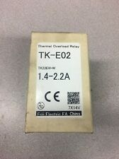 Fuji Electric TK-E02 Thermal Overload Relay 1.4-2.2A # TK22EW-M