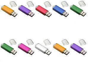 WHOLESALE/LOT/BULK USB FLASH DRIVE MEMORY STICK THUMB PEN DISK ( COLOR CHOICE )