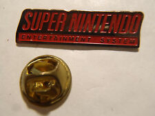 PIN'S SUPER NINTENDO ENTERTAINMENT SYSTEM