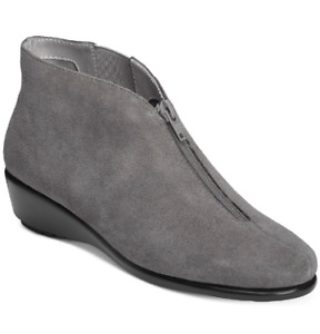 NEW AEROSOLES Women's ALLOWANCE Bootie Boots Size 11 M DARK GRAY $110