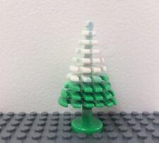 New LEGO Plant Green Pine Tree White Snow City Town Garden 3471 Large 4x4x62/3