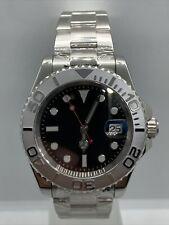 Mens Parnis Homage Watch Diver Luxury Automatic Bezel UK