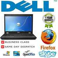 Fast Laptop Dell Latitude E6430 core i5 2.6GHz 4GB  320GB Windows 7 GRADE B
