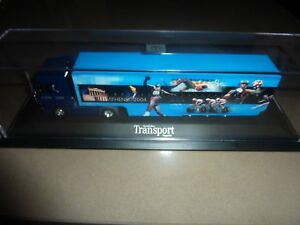 ATHENS 2004 MERCEDES BENZ TRUCK IN DISPLAY CASE - LIMITED EDITION