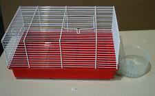 Ferplast Hamsterkäfig Nagerkäfig Mäusekäfig mit Laufrad *neuwertig* (Z13-R85)