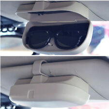 Universal Visor Mount Car Sun Glasses Case Holder Storage Box Accessories - Gray