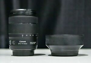 Canon EF-S 18 - 135mm f/3.5-5.6 IS USM Lens With (MINT CONDITION)