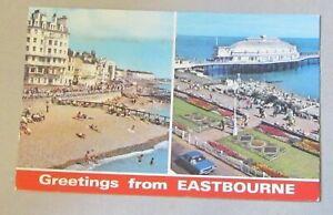 Greetings From Eastbourne Multi View. E.T.W.Dennis - No.E.0176.