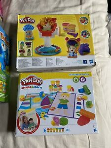 Play-Doh bundle, Crazy Cuts And Shape And Learn Brand New Sealed Boxes