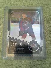 2011-12 O-Pee-Chee Brandon Yip Black Rainbow #d/100 Colorado Avalanche