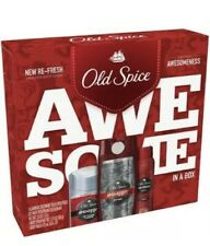 Old Spice Swagger Antiperspirant and Deodorant + Wash + Body Spray Gift Pack