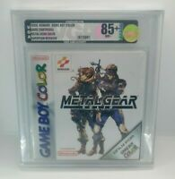 Metal Gear Solid for Nintendo Game Boy Color VGA Graded 85 NM+ Gold PAL
