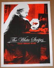 The White Stripes Rob Jones Milan Milano Italy Concert Poster S/N 2007 Art Jack
