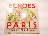 George Feyer Echoes Of Paris 1953 Vox 6 UHF 33RPM Vinyl LP Album