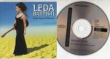 LEDA BATTISTI canta in SPAGNOLO CD SINGLE promo 1 traccia COMO AGUA AL DESIERTO