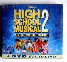 HIGH SCHOOL MUSICAL 2 - SPECIAL MUSICAL EDITION  -  CD + DVD NUOVO SIGILLATO