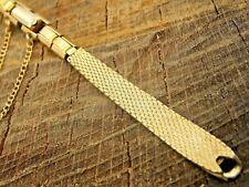 NOS Watch Band Vintage Unused Kreisler Gold Filled Butterfly Clasp Ladies C-Ring