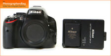 Nikon D5100 Digital 16.2MP SLR Camera Corpo, Batterie, Caricabatterie GRATIS UK PP