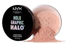 NYX Holographic Halo Finishing Powder,Softly Illuminate + Highlights, MAGICAL