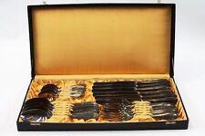 vecchio Box Posate Posate Acciaio inox 24 pz. Progettazione Vintage retrò