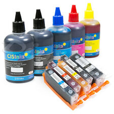 Refillable Cartridges and Ink Bottle Set for Canon 270/271 MG6820 MG6821 MG6822