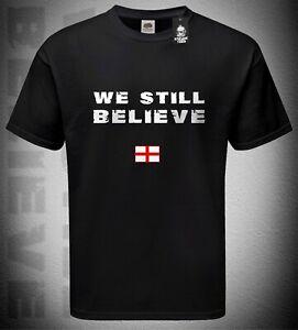 Mens 'We Still Believe' Tshirt England Fan T-Shirt 'It's Coming Home' Euro 2020
