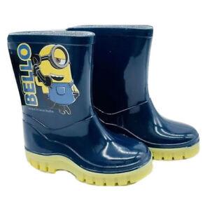 Minion Bello Official Despicable Me Wellington Boots UK Children Sizes 5 - 9
