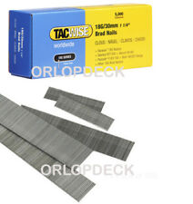1000 Tacwise 'F' Type 30mm x 18 gauge Brad Nails for Electric Stapler & Tack Gun
