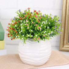 10pcs mini milan artificial berry plastic flowers wedding home party decorations