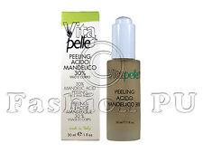 PEELING Acido MANDELICO 30% 30ml- ACNE Viso RUGHE esfoliante SMAGLIATURE macchie