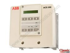 ABB | ACS201-1P1-1-00P10 | Inverter Drive with Operator  Panel (Refurbished)