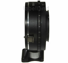 Aperture Control Canon EOS EF EFS lens to FUJI X-mount adapter ring FujiFilm FX