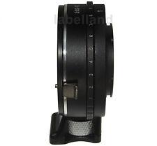 Aperture Control FITS Canon EOS EF EFS lens to FUJI X-mount adapter FujiFilm FX