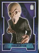 Doctor Who 2015 Purple Parallel [99] Base Card #99 The Silence