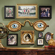 Optometrist Eyeglass Shop Sign Spectacles Replica Folk Art Wall Sculpture NEW