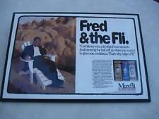 """Golf Memorabilia - """"Fred & the Fli"""" mounted Maxfli Golf promo piece"""