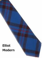 Tartan Tie Elliot Modern Scottish Wool Plaid