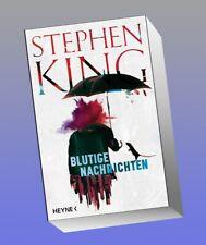 Stephen King blutige Nachrichten gebunden Top