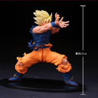 Hot Anime Dragon Ball Z super Saiyan Goku PVC Action Figure Figurine Toy Gift