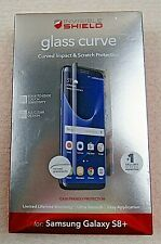 Zagg Invisible Shield Glass Curve Screen Protector for Samsung Galaxy S8+