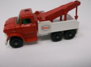 1968 Matchbox Esso Ford Heavy Wreck Truck #71