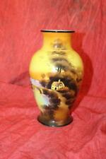 Gorgeous Signed Early Vintage Noritake Hand Painted Vase-Lamp Base