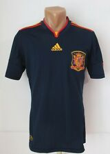 SPAIN 2010/2012 AWAY FOOTBALL SHIRT SOCCER JERSEY CAMISETA WC WINNERS ADIDAS (S)
