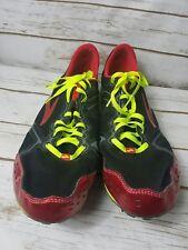 LD 4:10 Men's Brooks PR MD 14US 48.5EUR 13UK Red Competition Track & Field Shoes